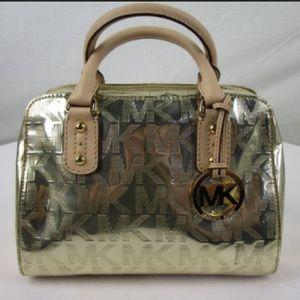 Michael Kors Shiny gold Handbag